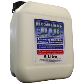 Resolute Dark pre-treatment solution 5 litre