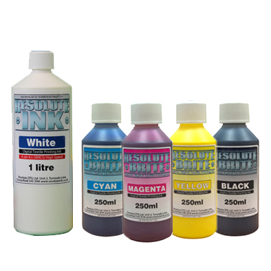 Resolute Brite DTG Ink Bundle