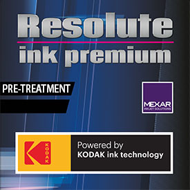 Resolute Ink Premium - Kodak Inkjet Pre-Treatments