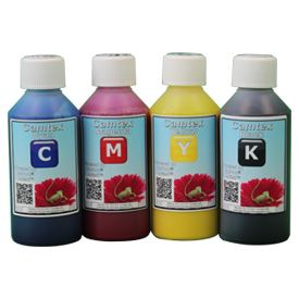 Camtex 250ml CMYK Set