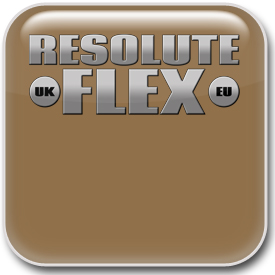 Resolute Metallic Gold Flex